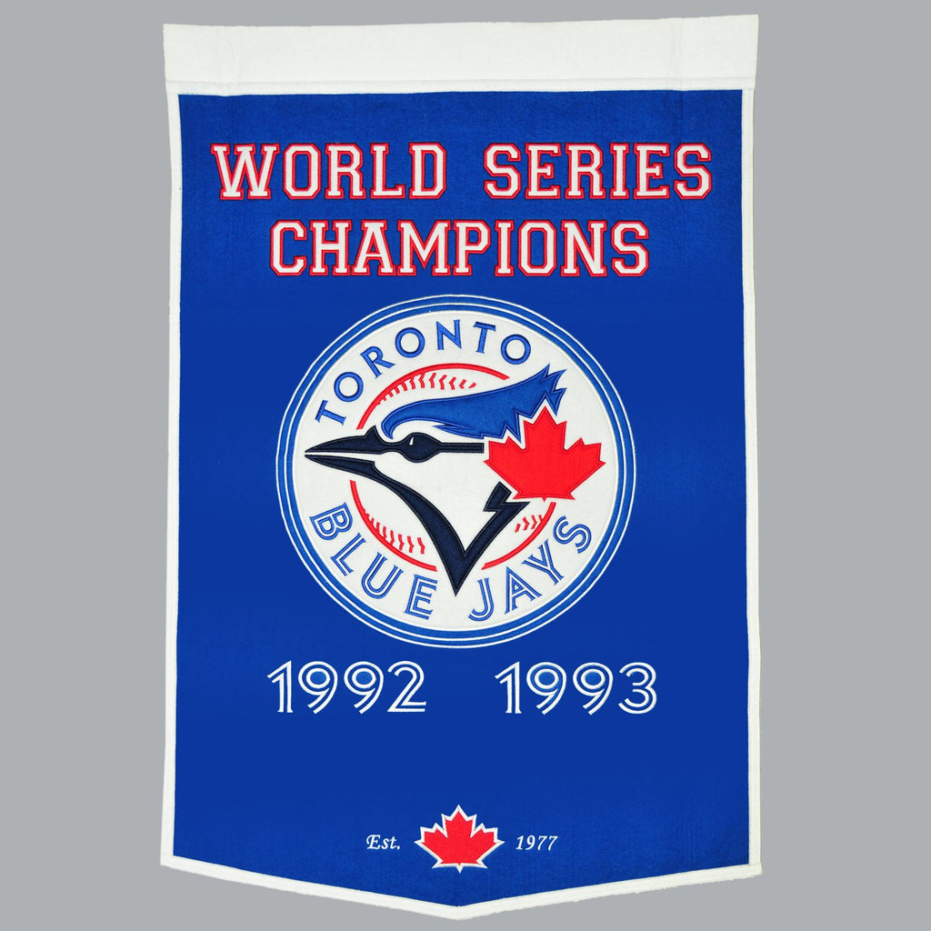 MLB, Toronto Blue Jays, Banners, Embroidered Banner, Officially licensed banner, Toronto Blue Jays gift