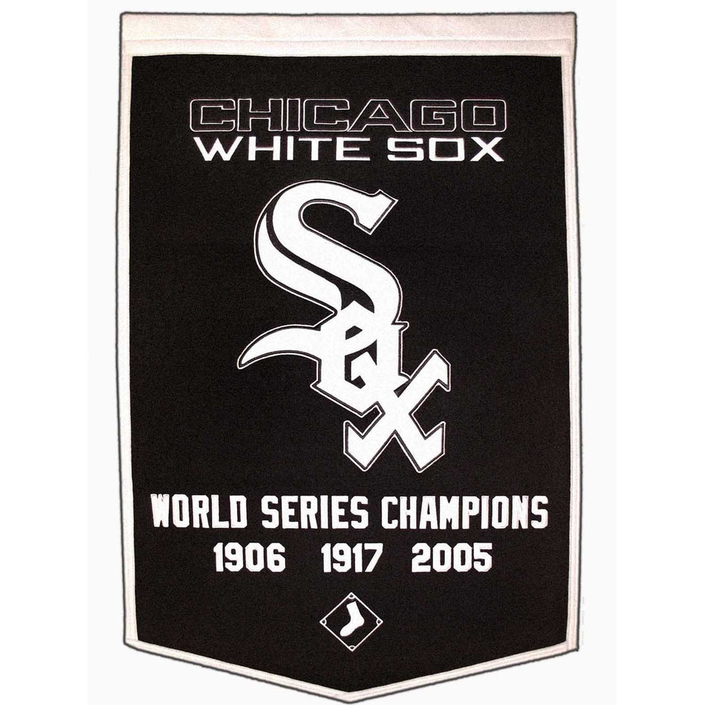 MLB, Chicago White Sox, Banners, Embroidered Banner, Officially licensed banner, Chicago White Sox gift