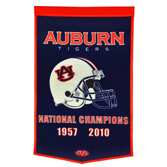 NCAA, Auburn, Banners, Embroidered Banner, Officially licensed banner, Auburn gift