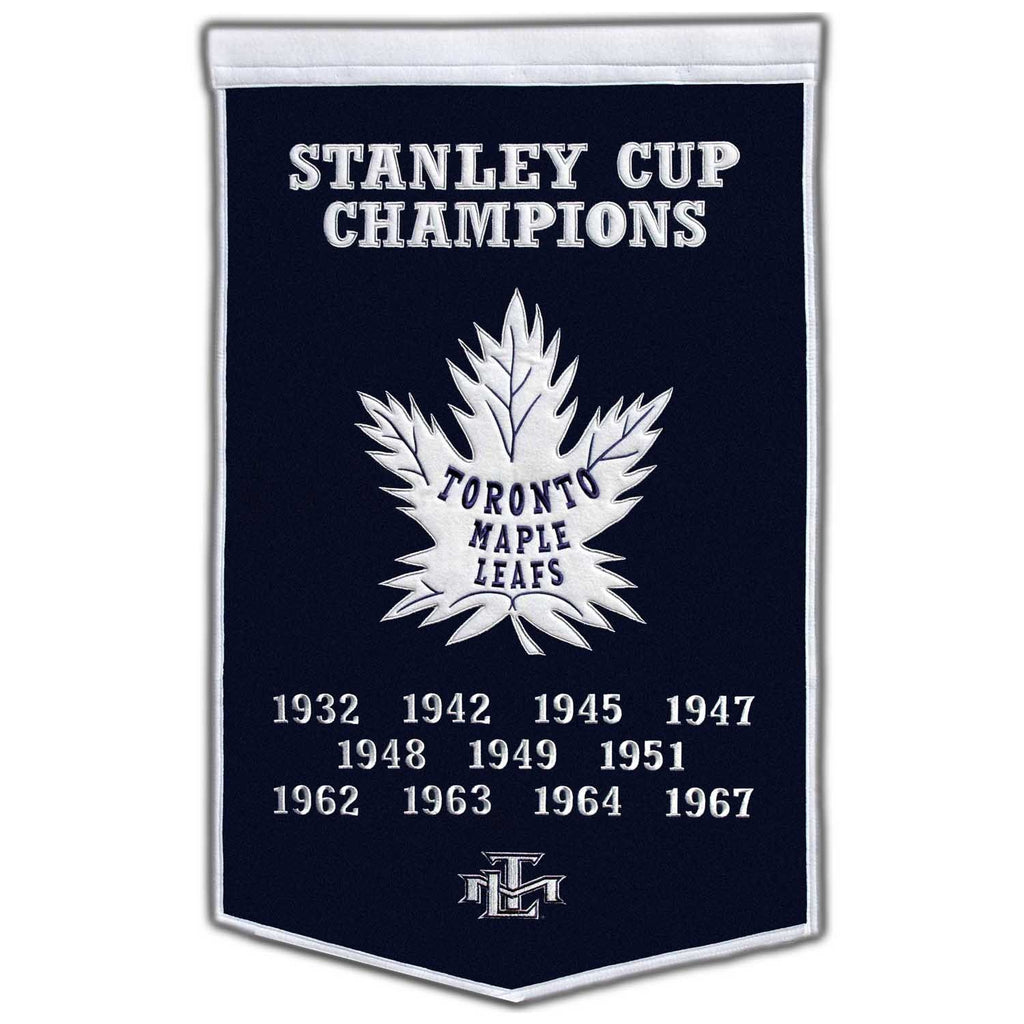 NHL, Toronto Maple Leafs, Banners, Embroidered Banner, Officially licensed banner, Toronto Maple Leafs gift