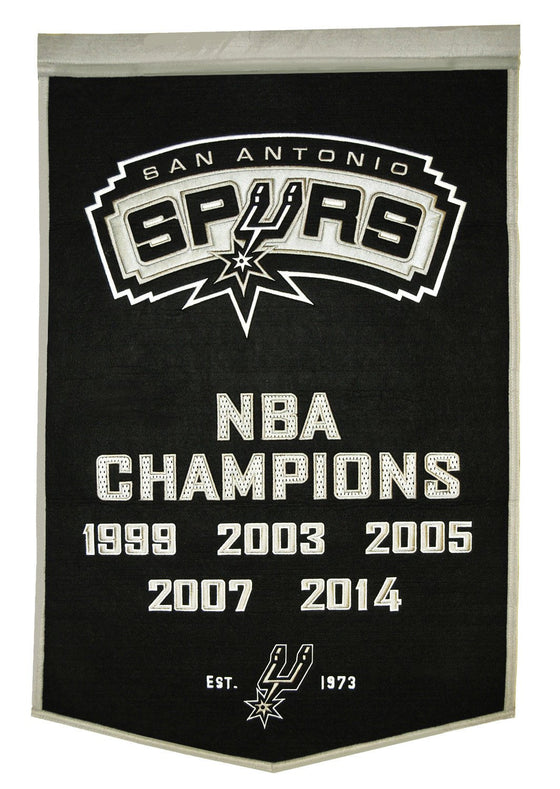 NBA, San Antonio Spurs, Banners, Embroidered Banner, Officially licensed banner, San Antonio Spurs gift