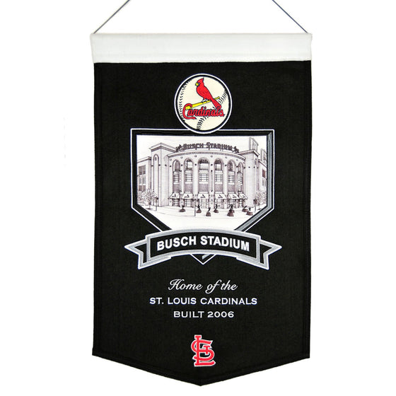 MLB, St. Louis Cardinals, Banners, Embroidered Banner, Officially licensed banner, St. Louis Cardinals gift