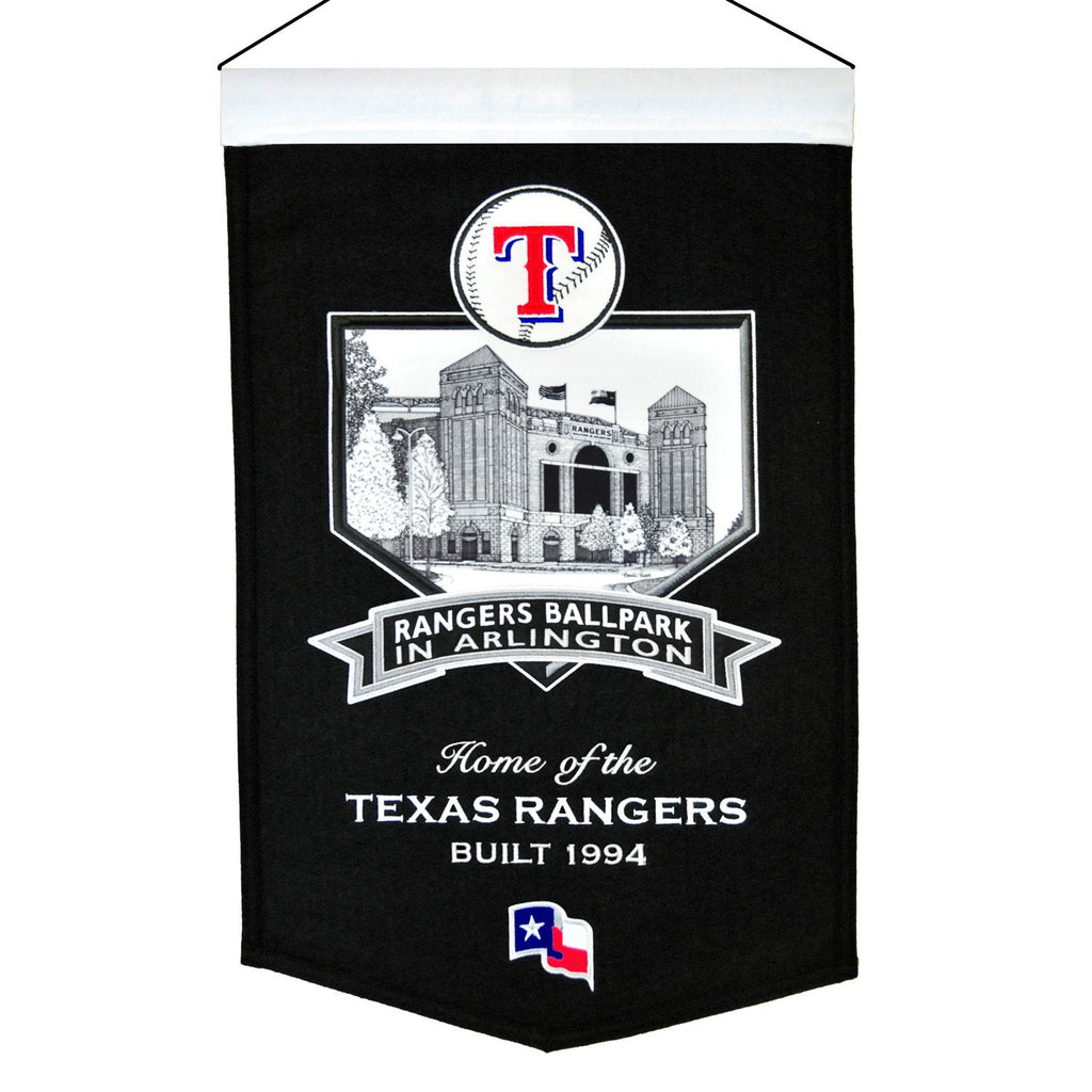 MLB, Texas Rangers, Banners, Embroidered Banner, Officially licensed banner, Texas Rangers gift