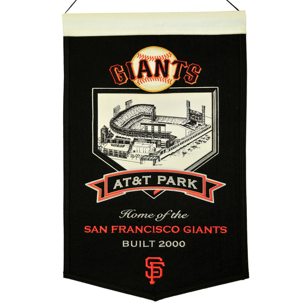 MLB, San Francisco Giants, Banners, Embroidered Banner, Officially licensed banner, San Francisco Giants gift
