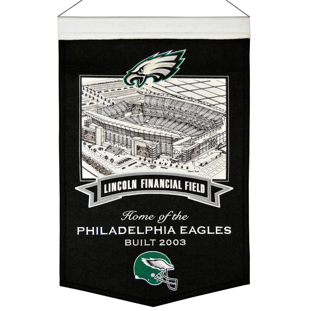 NFL, Philadelphia Eagles, Banners, Embroidered Banner, Officially licensed banner, Philadelphia Eagles gift