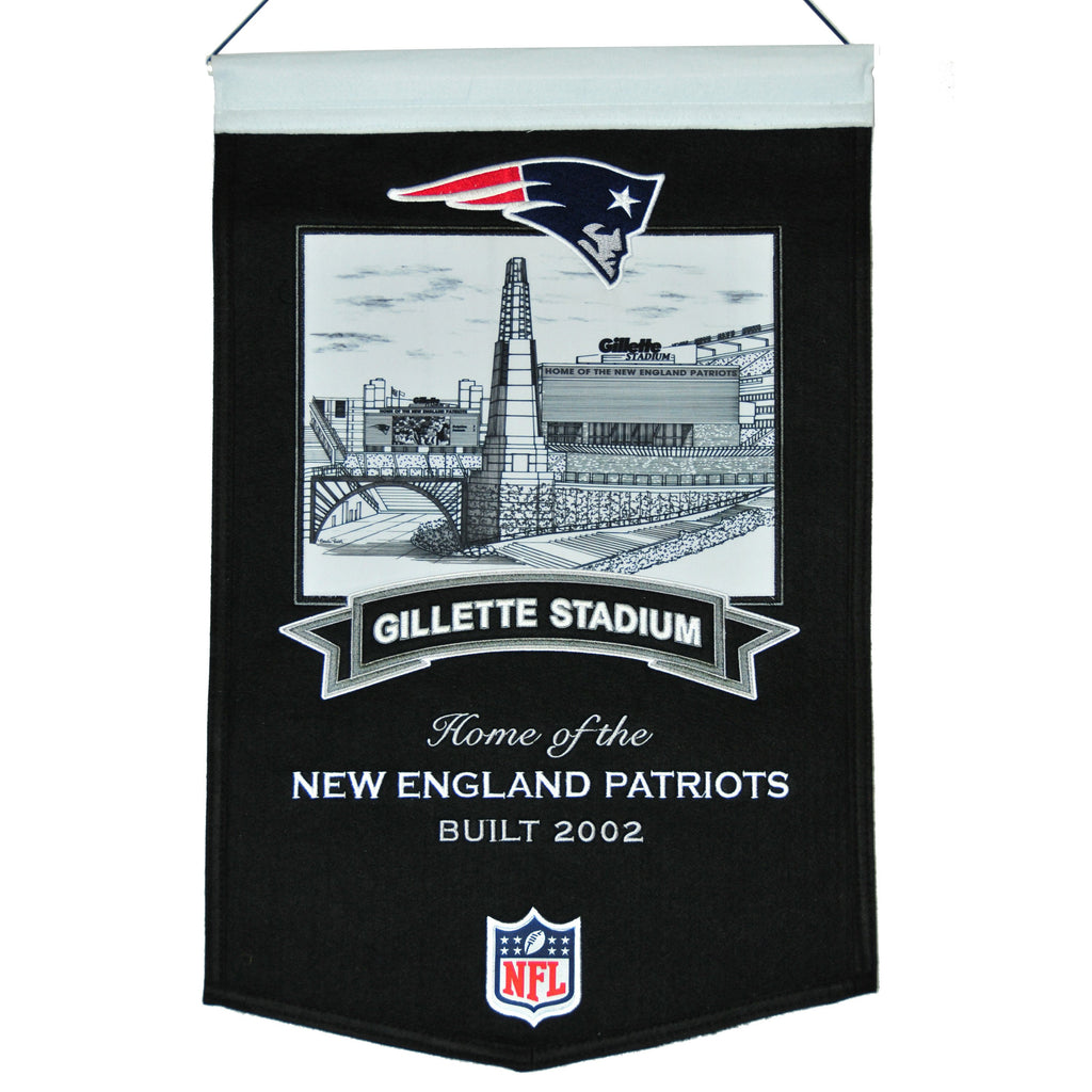 NFL, New England Patriots, Banners, Embroidered Banner, Officially licensed banner, New England Patriots gift