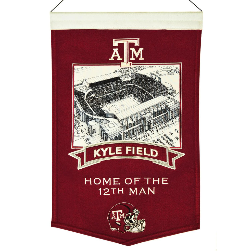 NCAA, Texas A&M, Banners, Embroidered Banner, Officially licensed banner, Texas A&M gift