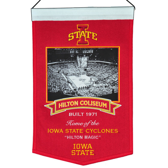 NCAA, Iowa State, Banners, Embroidered Banner, Officially licensed banner, Iowa State gift