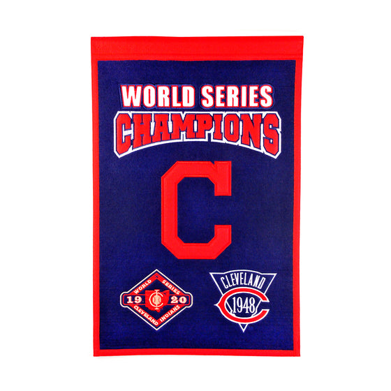 Cleveland Indians World Series Champions Banner