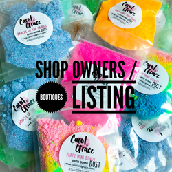 SAMPLE PACKS (FOR SHOP OWNERS ONLY!) LEAVE SHOP NAME & WEBSITE IN NOTES FOR LABELS!!!