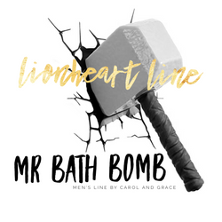 LIONHEART - MR BATH BOMB MENS LINE