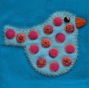 SS -Polka Dot Bird Block