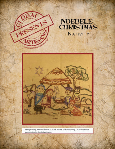 Ndebele Christmas - Nativity
