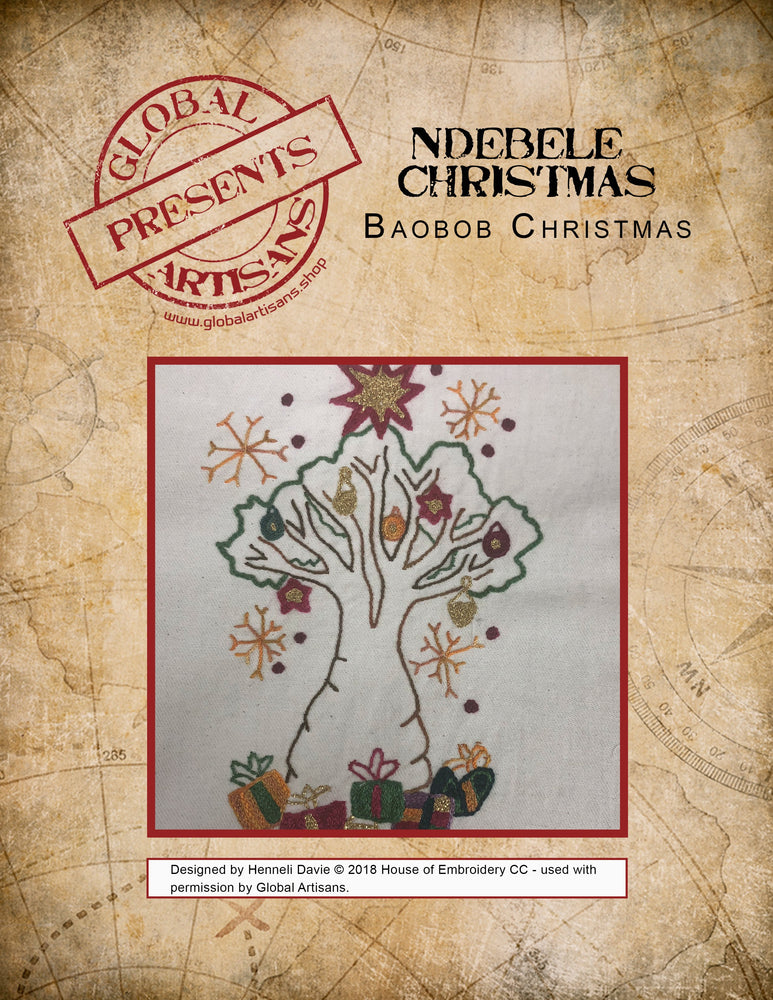 Ndebele Christmas - Baobab Tree