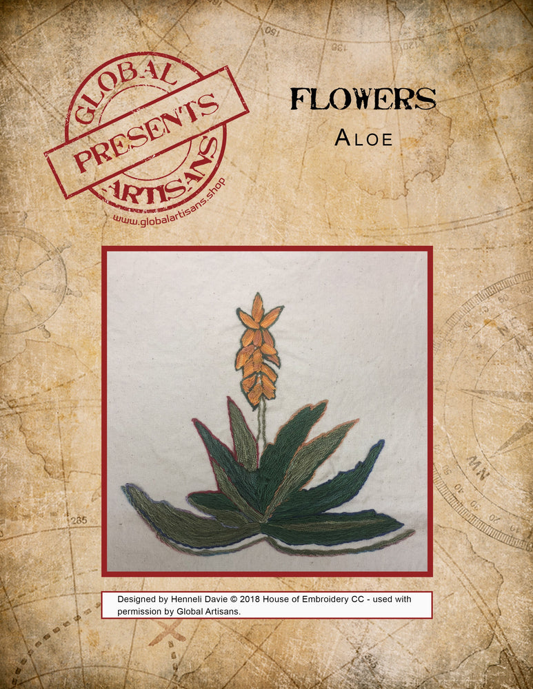 Flowers of Africa - Aloe