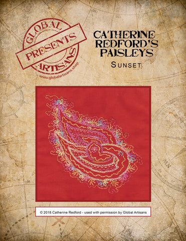 Catherine Redford's Perfectly Paisley - Sunset