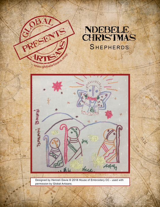 HD - Ndebele Christmas - Shepherds