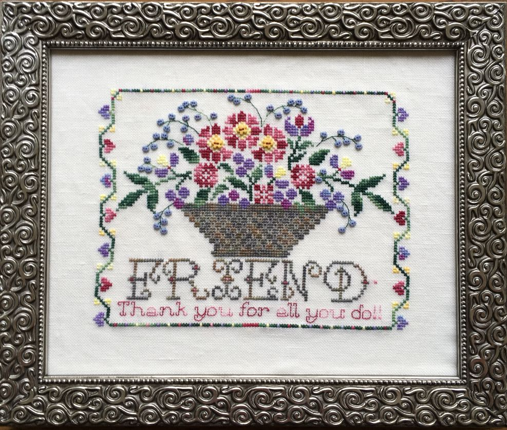 Rosewood Manor - Thank You Friend - with Thread and Button Pack