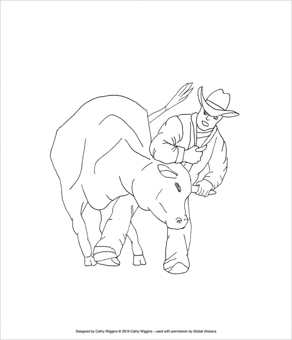 CW - Rodeo - Steer Wrestler