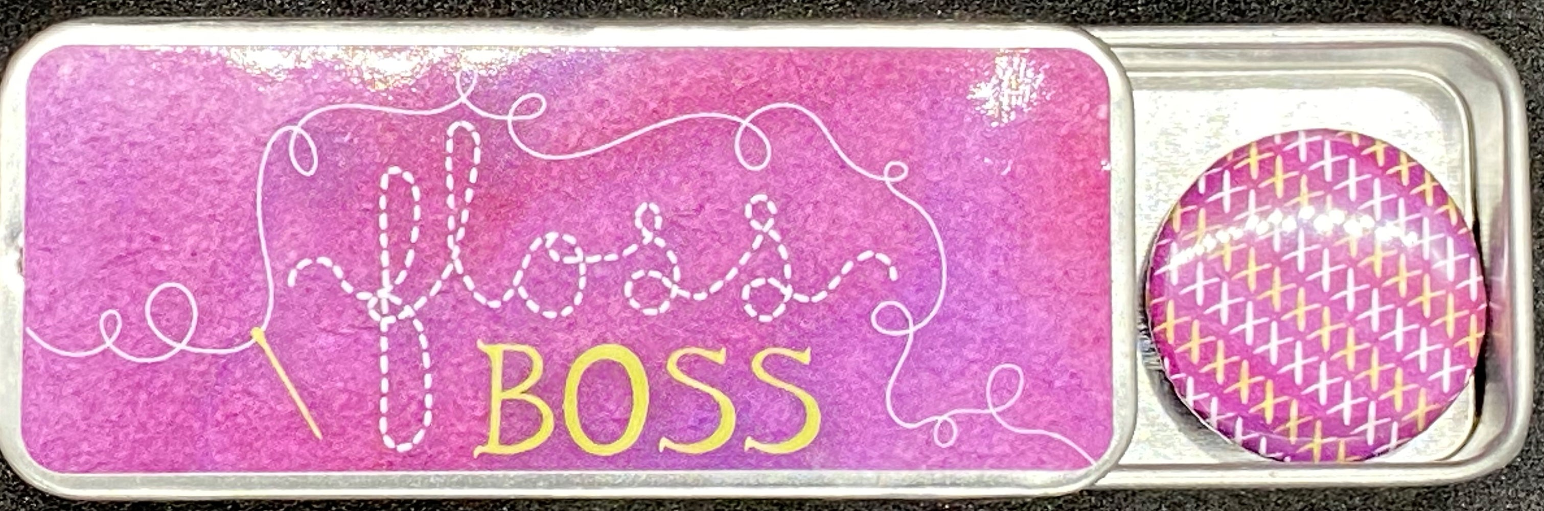 ZD - Needle Tin - Floss Boss