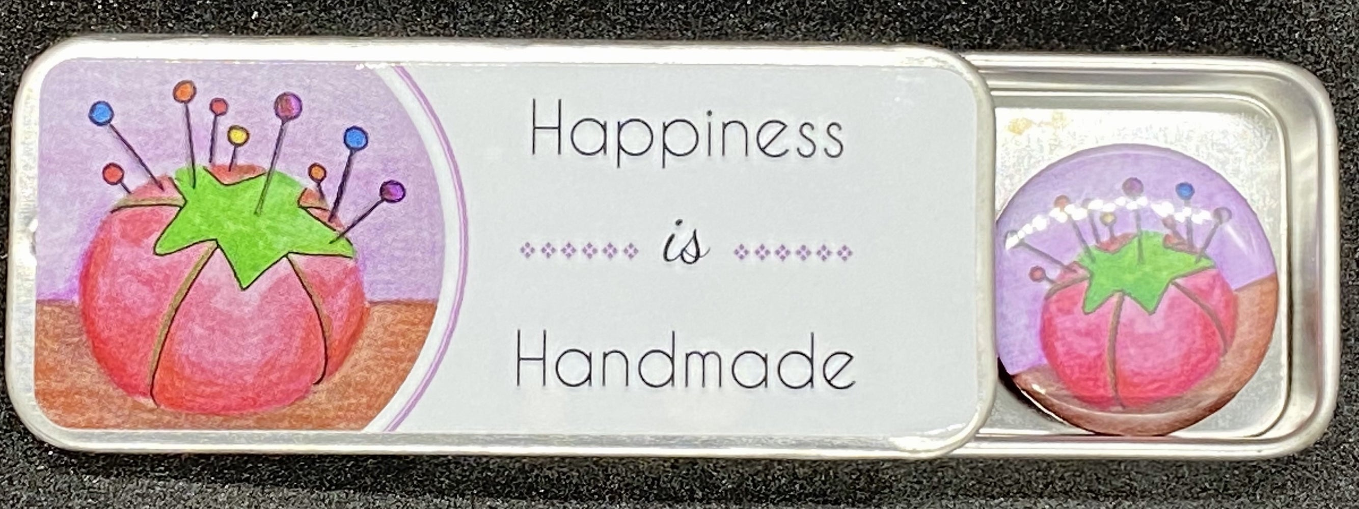ZD - Needle Tin - Happiness Is Handmade