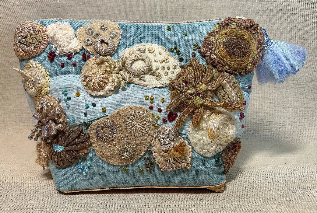 AZ - River Rocks Pouch by Ariane Zurcher - Thread Pack