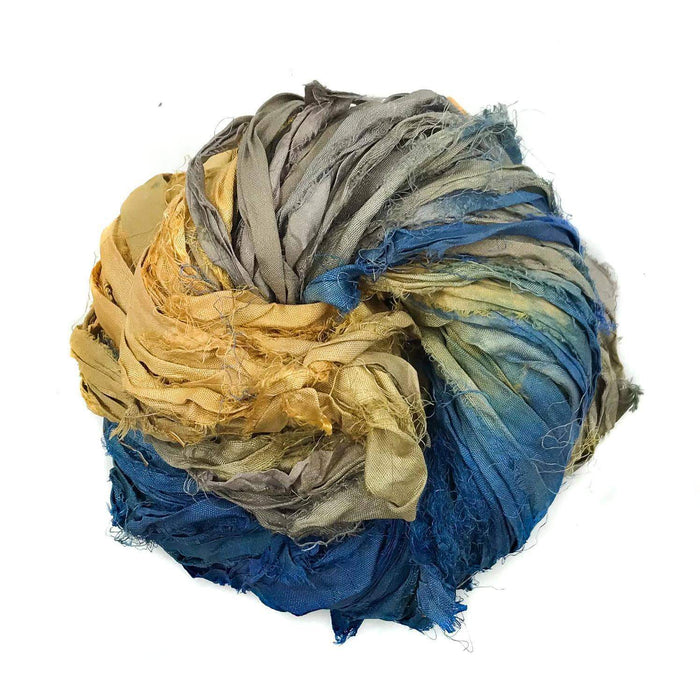 DGY - Recycled Sari Silk Ribbon - Stargazer