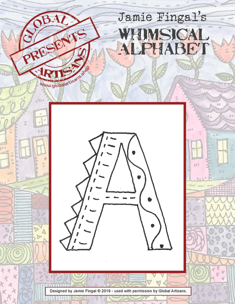 Jamie Fingal - Whimsical Alphabet