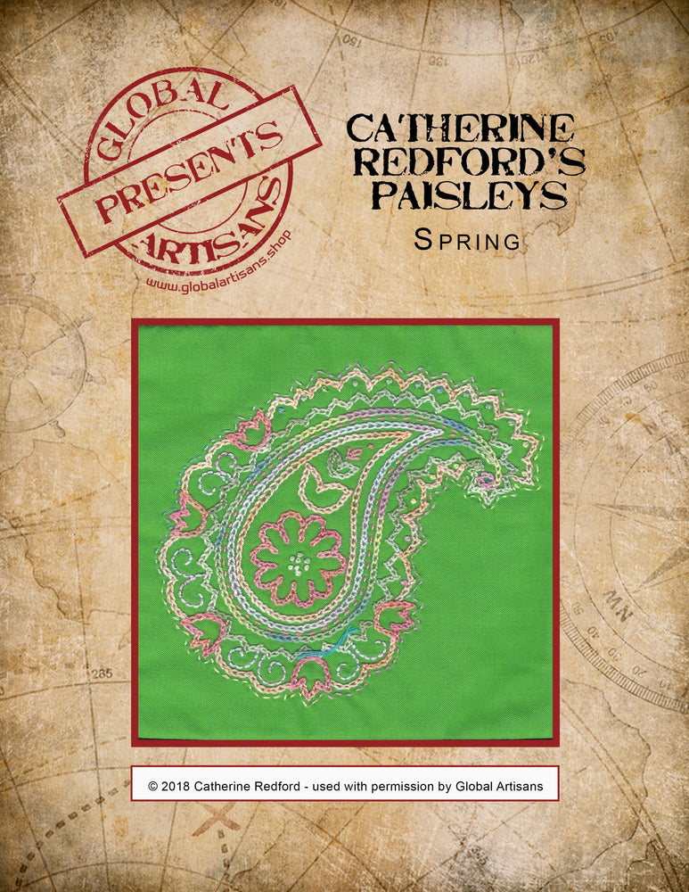 Catherine Redford's Perfectly Paisley - Spring