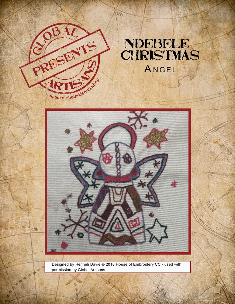 Ndebele Christmas - Angel