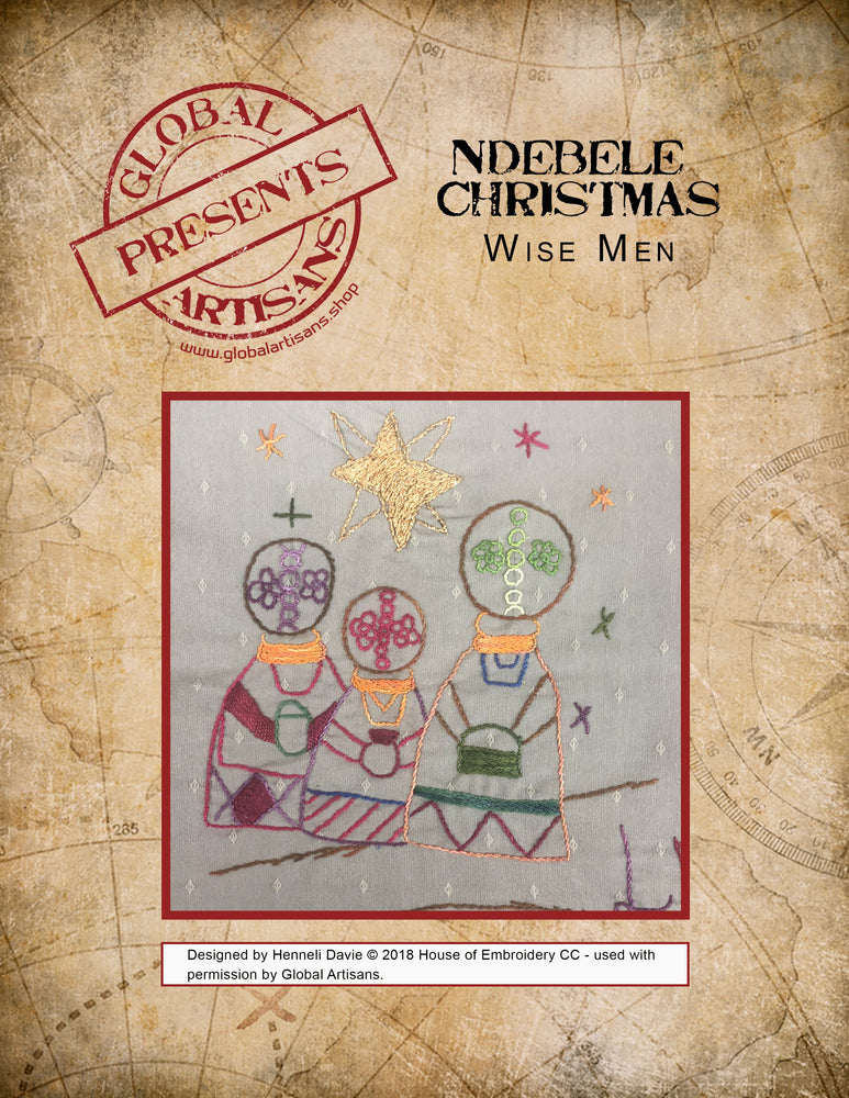 Ndebele Christmas - Wise Men