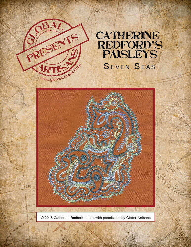 Catherine Redford's Perfectly Paisley - Seven Seas