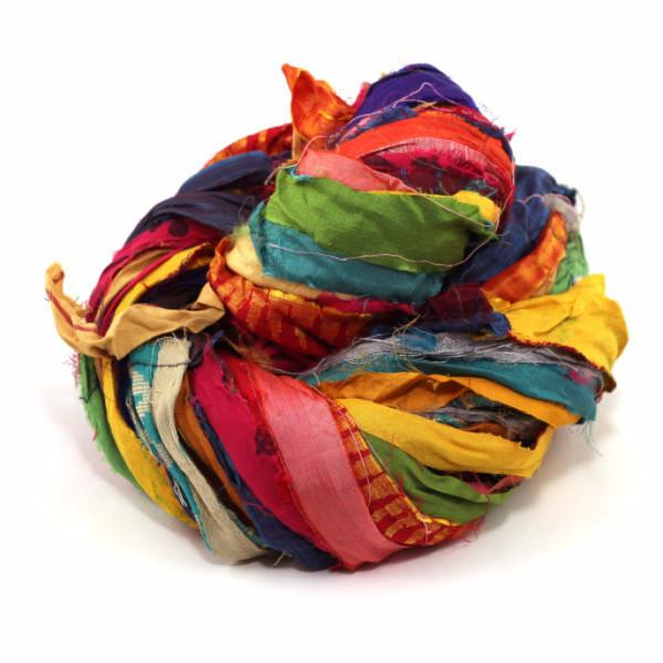 DGY - Recycled Sari Silk Ribbon - At The Bahamas