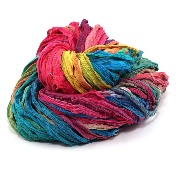 DGY -Silk Chiffon Ribbon - Watercolors