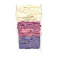 DGY - 3-Color Recycled Sari Silk Sampler - Flower Patch