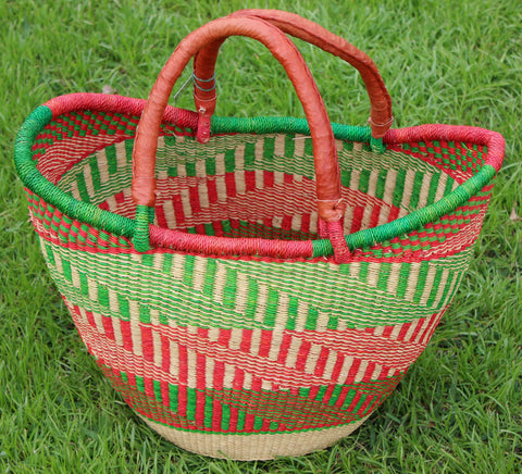Bolgatanga Basket - Large U-Shopper