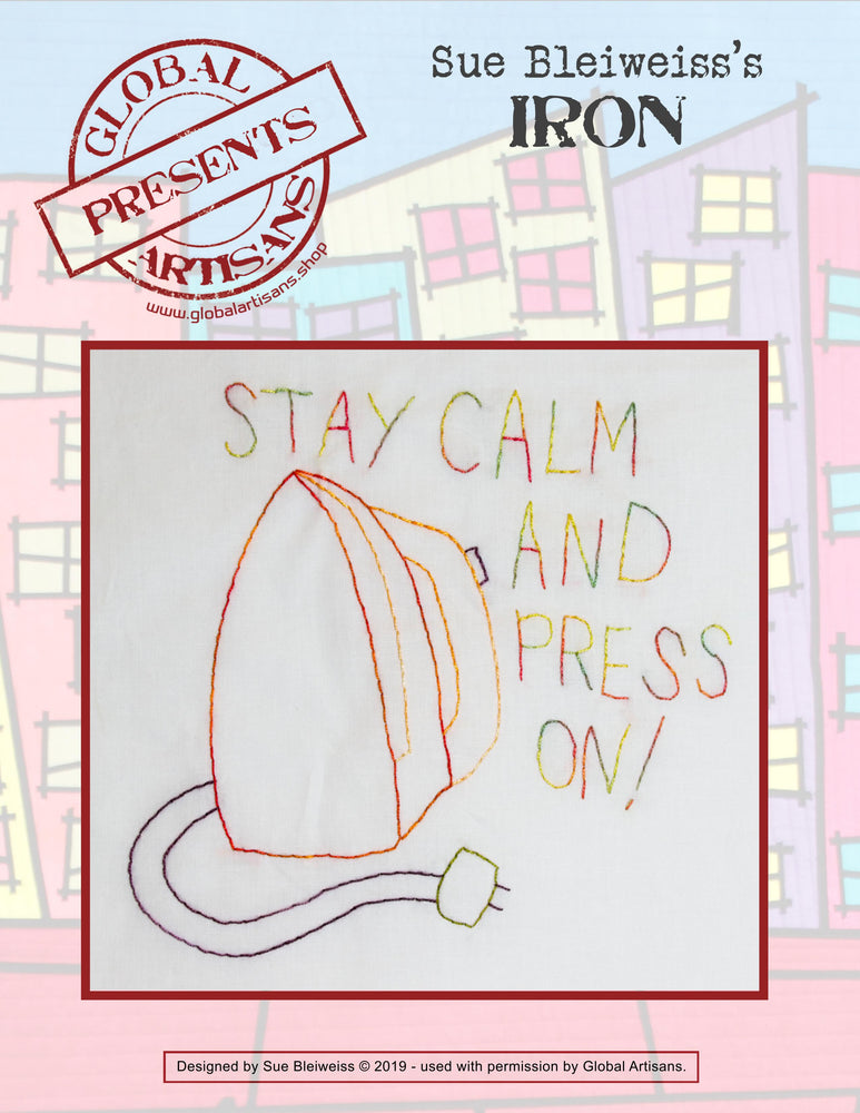 Sue Bleiweiss - Keep Calm and Press On