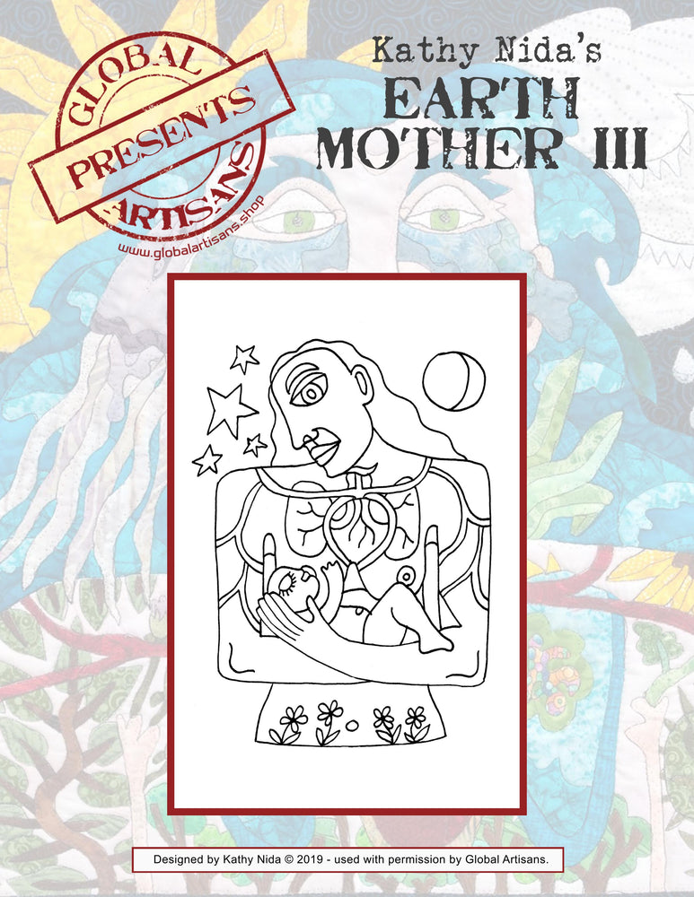 Kathy Nida's - Earth Mother III