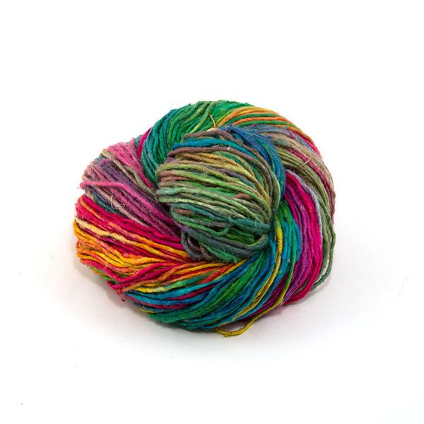 DGY - Worsted Weight Roving Silk Yarn - Watercolors
