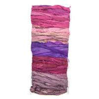 DGY - 5-Color Recycled Sari Silk Sampler - Wild Flowers
