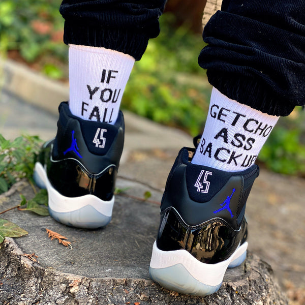Slogan Socks
