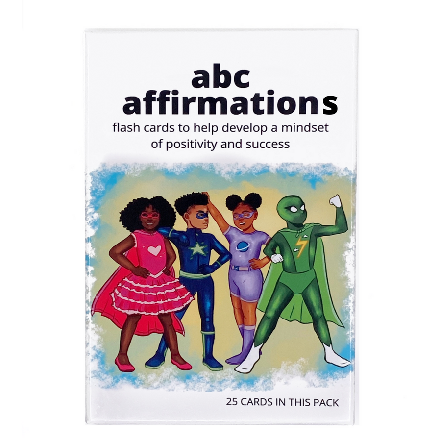 ABC Affirmations Flash Cards