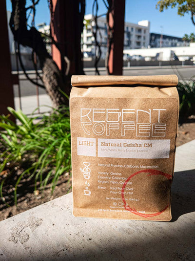 Natural Geisha Carbonic Maceration (12oz) | Regent Coffee Roaster Best Roaster in Los Angeles, CA