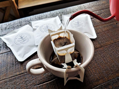Natural Processed Ethiopia Coffee | Portable Pour Over Coffee - Regent Coffee Roaster Glendale California