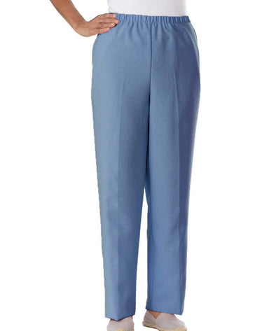 Womens Open Back Adaptive Pants - Disabled Adults Wheelchair Pants - Back Snaps