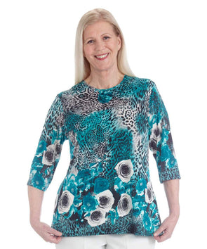 Gorgeous Women's Adaptive Top - Disabled Dressing At It's Best