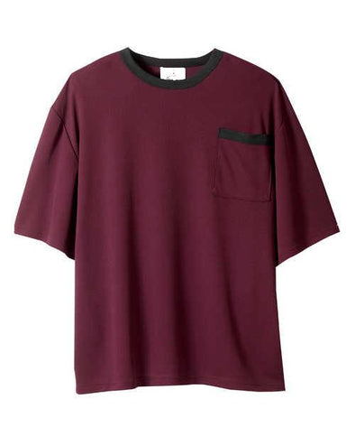 Adaptive Tshirt Top For Men - Back Snap Shirts - Adaptive Clothing Canada