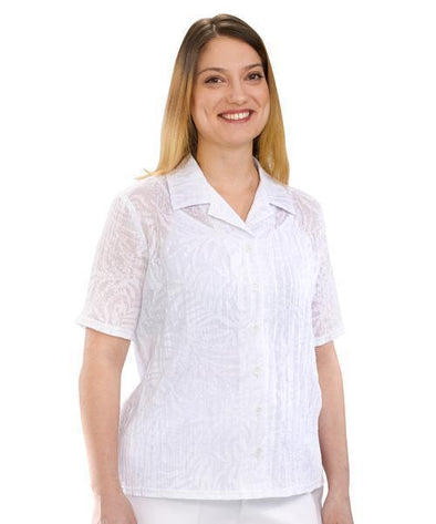 Adaptive Blouse For Women - Open Back Blouse - Adaptive Clothing Canada