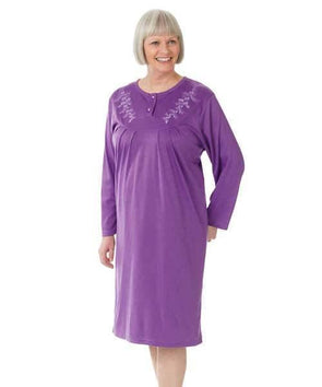Hospital Gowns - Womens Adaptive Cotton Nightgowns - Adaptive Clothing Canada