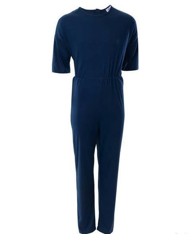 Mens Adaptive One Piece Alzheimer's Anti Strip Jumpsuits - Fits Up To 3 XL - Adaptive Clothing Canada
